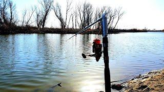РЫБАЛКА 2020 УДОЧКА САМОЛОВКА В РАБОТЕ рыбалка весной 2020
