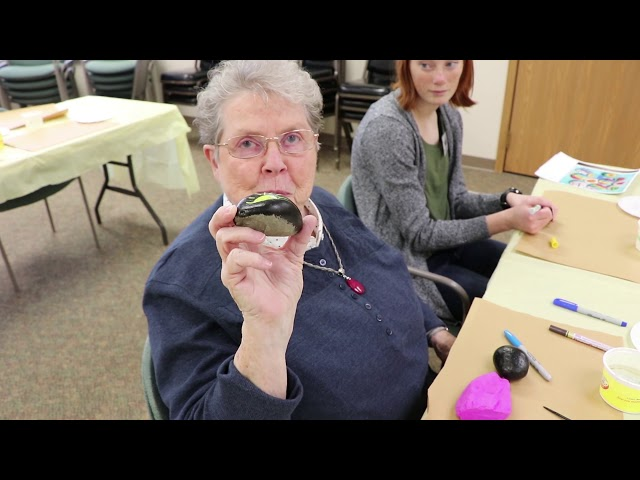 BVM Sisters: The Kindness Rocks Project