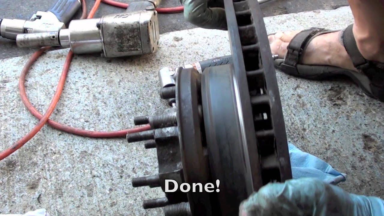 Toyota Land Cruiser Front Knuckle Rebuild Tutorial 2