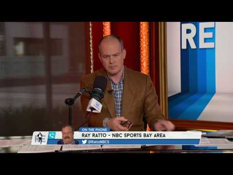 Ray Ratto of NBC Sports Bay Area on 49ers, Marshawn Lynch, Draft & More - 4/24/17