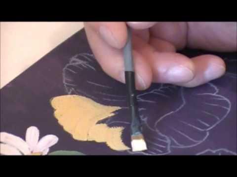 Cours N En Peinture  LHuile  Peindre Des Fleurs CEst Facile