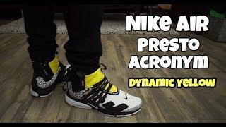 Nike Presto Acronym / Dynamic Yellow On