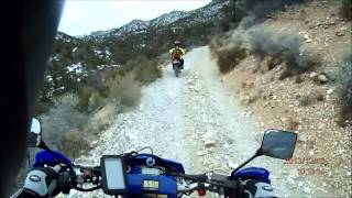 Rocky Gap Winter Ride Wr450F and Drz400E