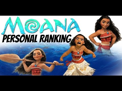 Personal Ranking: Moana (40 voices)