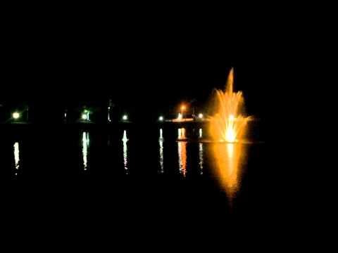 Water Fountain At Maranatha Village In Sebring Florida