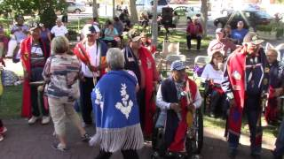 Gourd Dance Honoring Veteran Bernard Duran - Part 5 - Old Town Albuquerque, NM