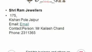 Shri Ram Jewellers