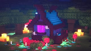 Minecraft | How to Build a Witch House | Halloween Special