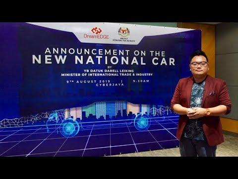 Malaysia's New National Car - everything we know so far of the DreamEdge project