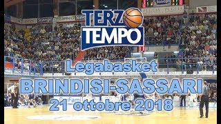 Terzo Tempo: Happy Casa Brindisi-Dinamo Sassari 84-90