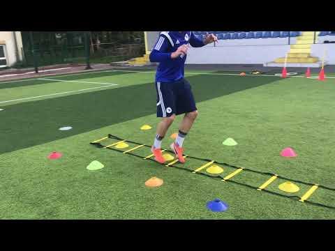 Specific Defensive Moves And Drills For CB/ Amar Drina BiH U 17