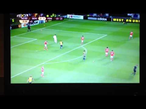 Artur Moraes Funny Moments Benfica vs Fenerbahce