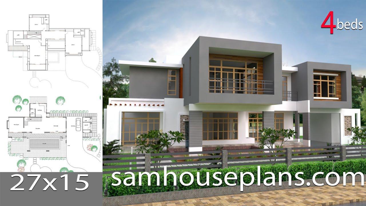 Lumion 6 easy tip Render, Sketchup Modeling Modern Vila Design 12