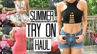 TRY ON Summer Haul | Fashion Nova