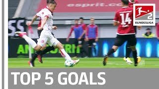 More great goals in bundesliga 2!► sub now: https://redirect.bundesliga.com/_bwcssit down and strap yourselves for 2's top 5 on matchday ...