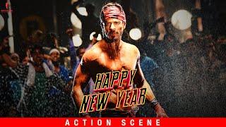 Charlie's Action Entry | Happy New Year | Action Scene | Shah Rukh Khan, Deepika Padukone