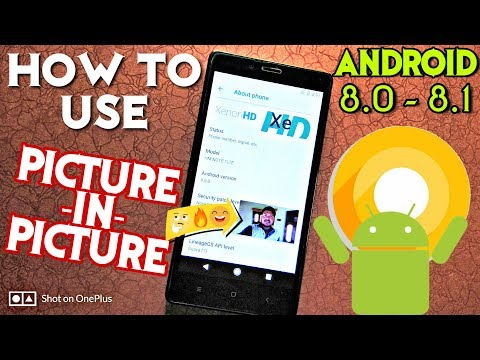 How to use Picture-in-Picture Mode on Android Oreo 8.0 / 8.1 - Hindi Tech Video
