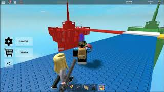 Destroying towers for fun!! / ROBLOX