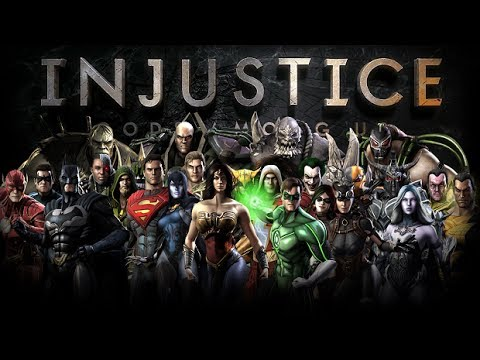 Injustice: Gods Among Us - All Super Moves (Including Downloadable Content) (HD)