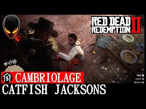 Red Dead Redemption 2: Cambriolage Catfish Jackson