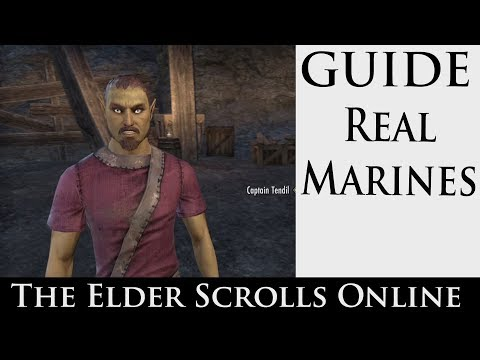 The Elder Scrolls Online - Real Marines (with Commentary)