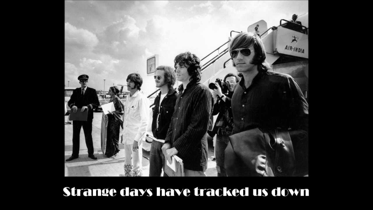 sc 1 st  YouTube & The Doors - Strange Days (with lyrics) - YouTube