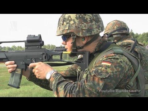 Na sowas  Soldaten sind begeistert vom Pannengewehr G36