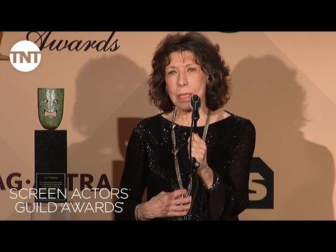 Lily Tomlin: Press Room Q&A | 23rd Annual SAG Awards | TNT