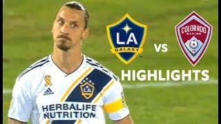 Zlatan Ibrahimovic vs Colorado Rapids Highlights | LA Galaxy vs Colorado Rapids 11/09/2019