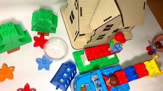 Lego Duplo forest animals