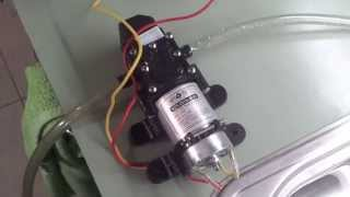 Quick review: $24 ebay water pump, 100 PSI 12V for caravans etc(, 2014-08-29T06:42:46.000Z)