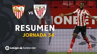 Resumen de Sevilla FC vs Athletic Club (0-1)