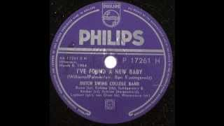 Dutch Swing College Band -- i found a new baby -- 78 rpm 1954