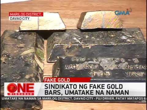 One Mindanao:  Modus na Pekeng Gold Bars Muling Umatake