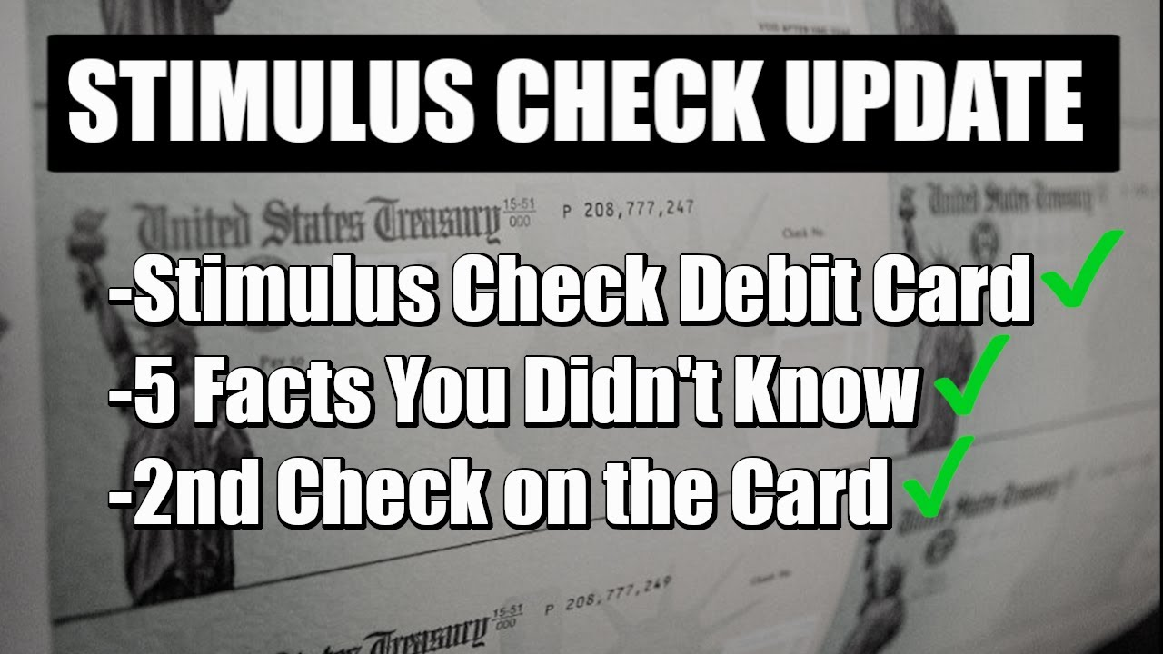 IRS Continues Sending Stimulus Payment Debit Cards: Watch for ...