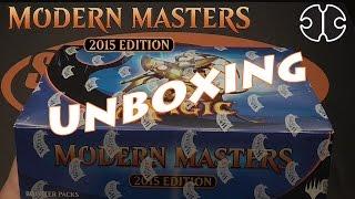 Modern Masters 2015 - Display Unboxing - SpielRaum Wien [DE]