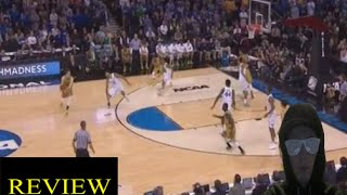 Kentucky vs Notre Dame 2015 NCAA Tournament March Madness Elite 8 Game Recap My Thoughts Review