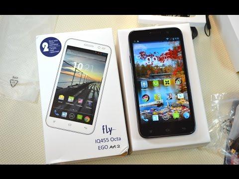 Распаковка Fly IQ455 Octa Ego Art 2: первый 8-ядерный телефон Fly