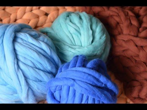 29b3f8404b How to felt super chunky Merino wool. BeCozi - YouTube