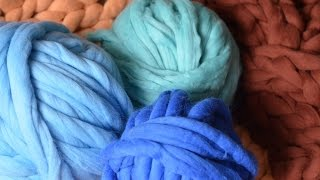 How to felt super chunky Merino wool. BeCozi