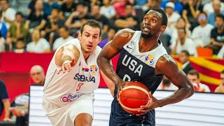 SERBIA vs USA full game highlights FIBA world cup 2019