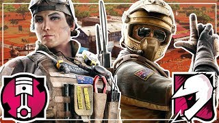 First Look At NEW Operators Gridlock & Mozzie - Rainbow Six Siege Operation Burnt Horizon