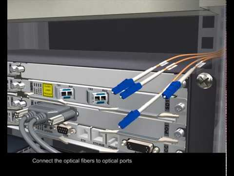 Routing Optical Fiber