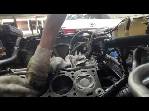 Cleaning Cylinder Block Surface