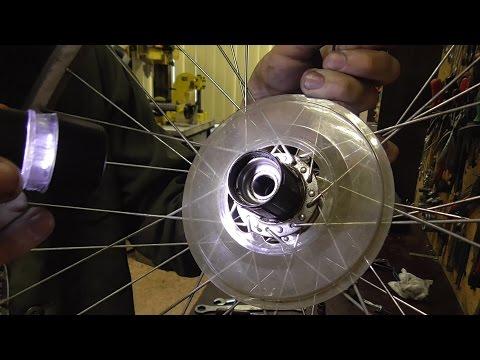 Смотреть онлайн Ремонт задней втулки велосипеда