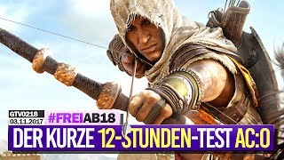 0218 🔴 ASSASSIN'S CREED: ORIGINS - Der kurze 12 Stunden-Test 🔴 Gronkh Livestream vom 03.11.2017