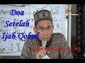 Inilah Doa Setelah Ijab Qobul sesuai dengan Sunnah   Ustadz Adi Hidayat  Lc  MA