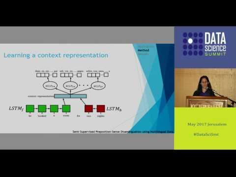 Semi Supervised Preposition-Sense Disambiguation using Multilingual Data - Hila Gonen