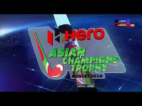 Hero Asian Champions Trophy 2018: Malaysia lwn Jepun | Sorotan Penuh | Astro Arena