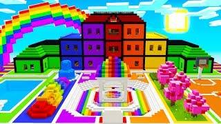 HIDE & SEEK IN RAINBOW SCHOOL CHALLENGE!